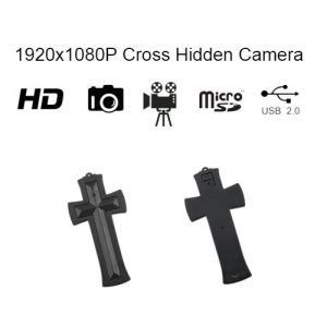 Hidden Spy Camera/DVR Cross