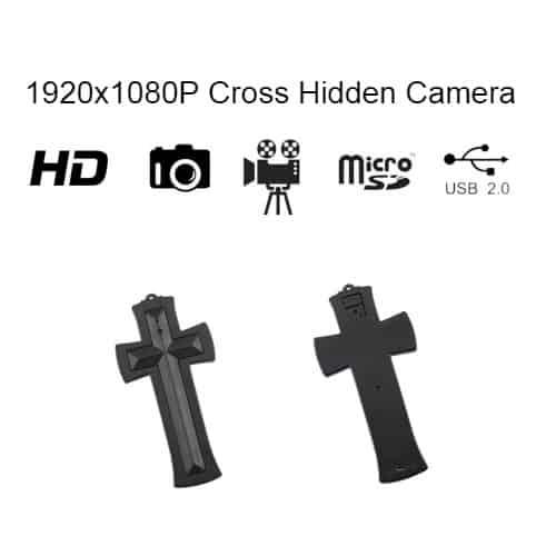 Hidden Spy Camera/DVR Cross
